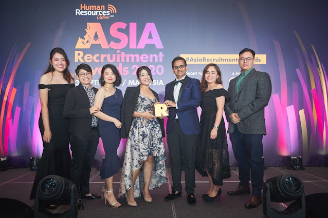 JP Associates at the Asia Recruitment Awards 2020 Winner Gala