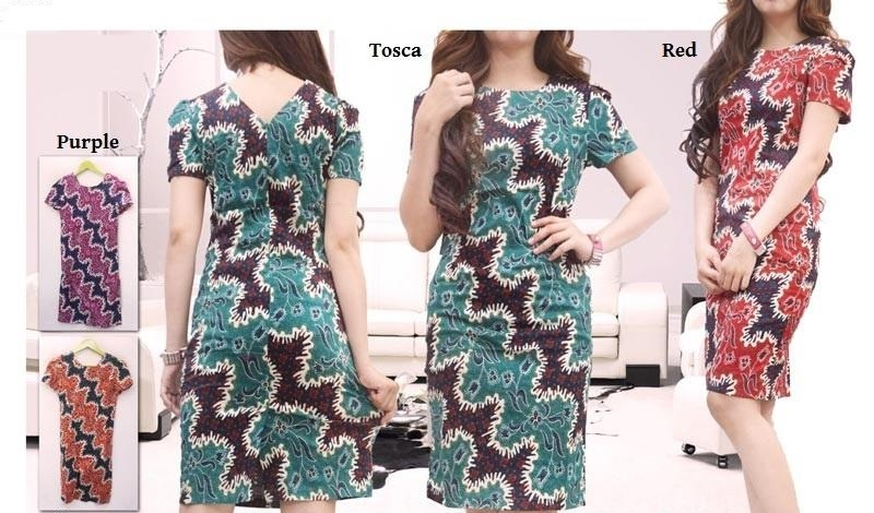 Model Baju Batik Atasan Untuk Wanita Bertubuh Gemuk Agar Tampak Langsing