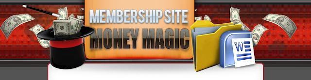 Membership Site Money Magic Header