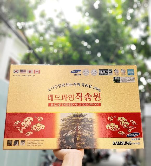 Tinh dầu thông đỏ Dami Hansongwon Hàn Quốc