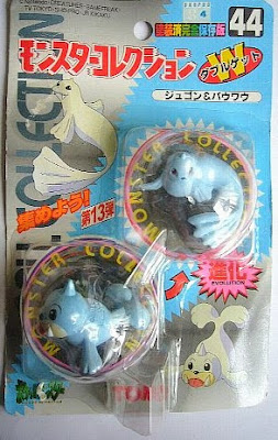 Seel Pokemon figure Tomy Monster Collection series