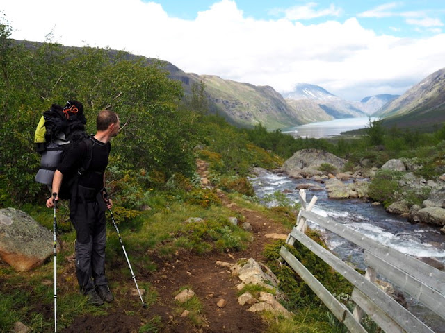 cesta s příběhem, Norsko, Jotunheimen, trek, oblečení, co si obléct do přírody
