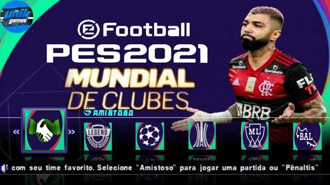 PES 2021 PPSSPP COM MUNDIAL DE CLUBES