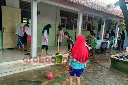 Kebanjiran, SD Negeri 1 Grobogan Tunda Ulangan Akhir Semester