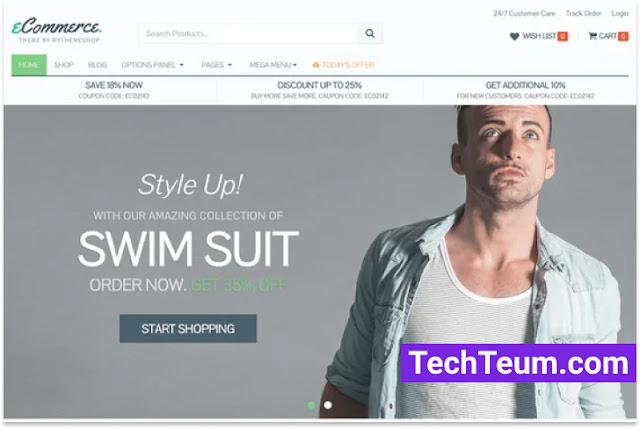 eCommerce by MyThemeShop