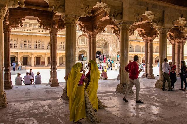 India Jaipur Amber Fort