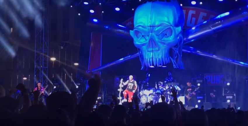 Watch Five Finger Punch Perform Gone Away At Las Rageous 2018