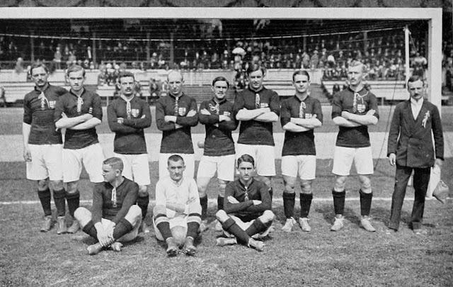 Hungary Olympic Football Team - 1912
