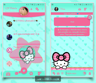 Hello Kitty On Star Theme For YOWhatsApp & Fouad WhatsApp ByThania