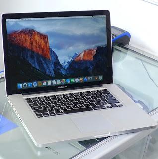 Macbook Pro 15-inch MC371LLA Core i5 Malang