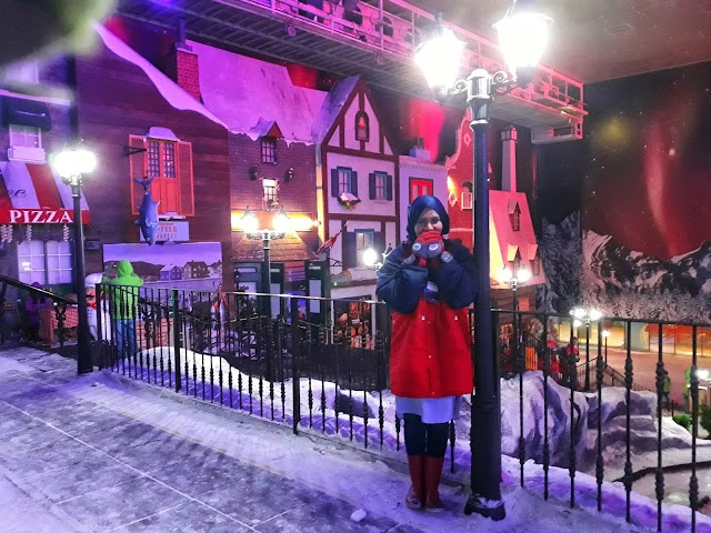 Sub-Zero Challenge at the Snow World,Resorts World Genting.