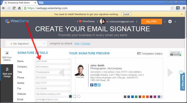Nia Haryanto's Blog: Membuat Signature Email yang Lebih ...