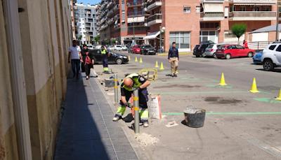 pilons carrer smith barri del port