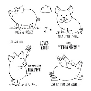 """This Little Piggy"" stamp set by Stampin'UP!"