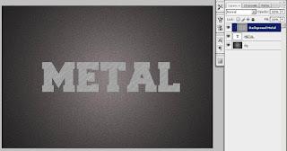Cara Membuat Teks Efek Metal dengan Adobe Photoshop CS3