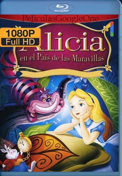 Alicia en el país de las maravillas (1951) [1080p BRrip] [Latino-Inglés] [LaPipiotaHD]