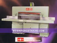 Mesin Potong Kertas QZ-104   Kondisi Baru