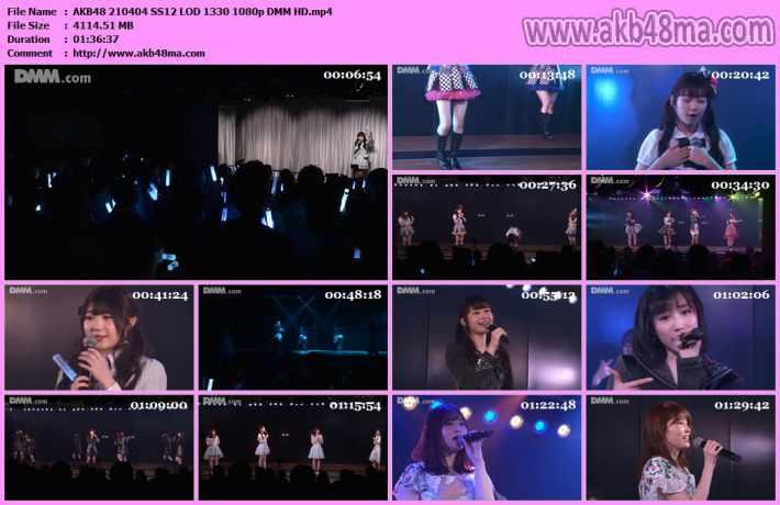 AKB48 210404 SS12 LOD 1330 1080p