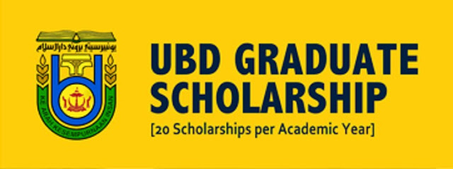 Beasiswa Pascasarjana Universiti Brunei Darussalam (UBD) 2020