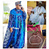 Oluwo of Iwoland, Oba Rasheed Beat & Slaps Ogbagba King, Olaleke Akinropo In Obas Meeting