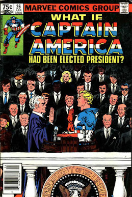 What If? #26, Captain America had been elected president