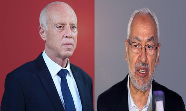 راشد الغنوشي يردّ على تصريحات قيس سعيّد : تعيينات هشام المشيشي نافذة ما دامت قانونية