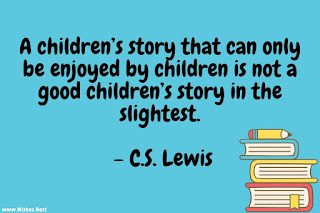 children and reading quote