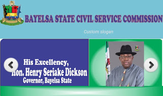 Bayelsa State Civil Service Commission: List of cleared applicants for the screening exercise
