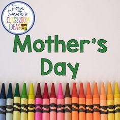 Click here to follow my Mother's Day Pinterest Board for Educators.