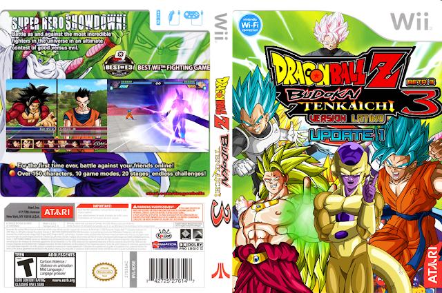 Dragon Ball Budokai Tenkaichi 3 Latino Edición DBSuper + Emulador Modificado PC bajos recursos.