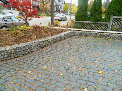Toronto Bedford Park Fall Cleanup Front After by Paul Jung Gardening Services--a Toronto Gardening Company