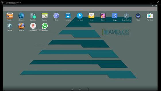 Emulator Android Terbaik (AMIDuOS)