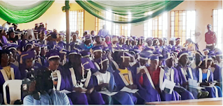 CHST Ijero-Ekiti Matriculates 162 Students for 2019/2020 Session