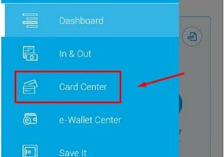 Aplikasi Jenius Card Center