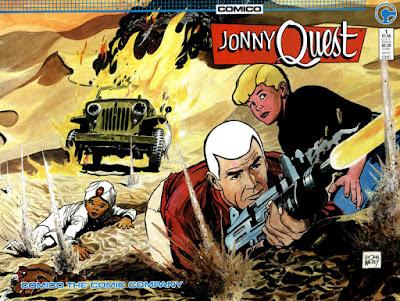 Favorite Comic Artist Countdown #5 - Doug Wildey!