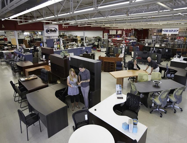 best buy discount used office furniture Manhattan for sale cheap