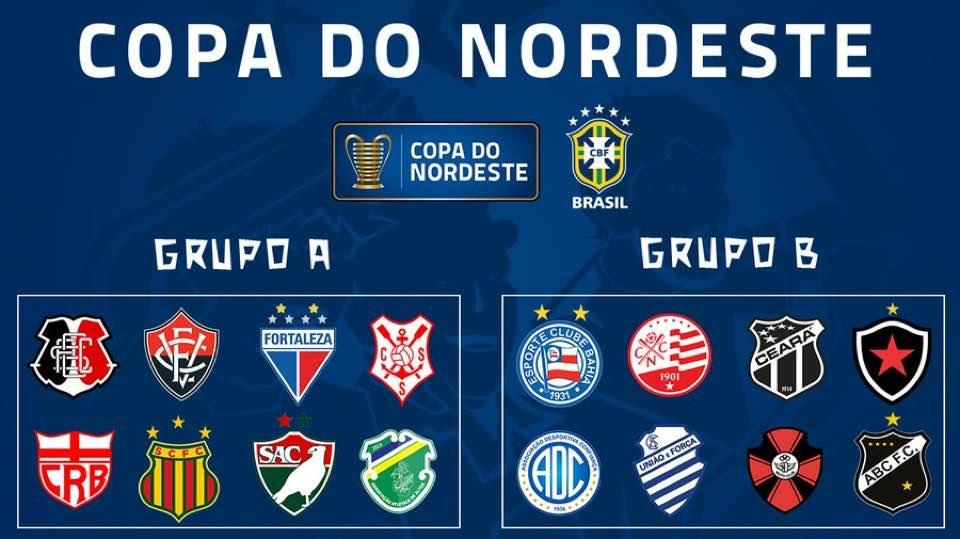 Copa do Nordeste 2019 traz Fortaleza no Grupo A e Ceará no Grupo B b585cba628a