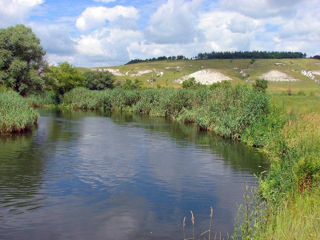 что посмотреть в харьковской области, река Оскол