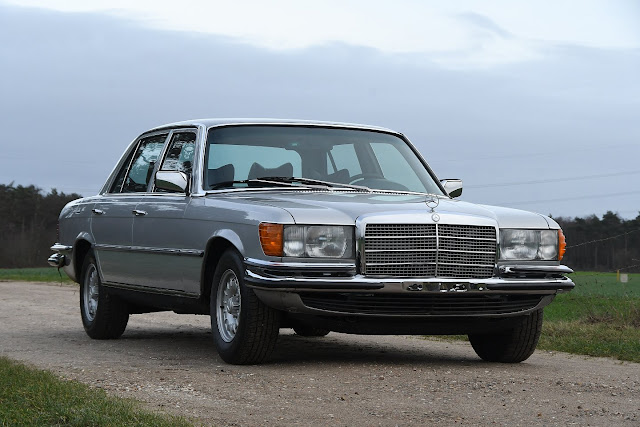 1979 Mercedes Benz 450 Sel 6 9 Sedan W116