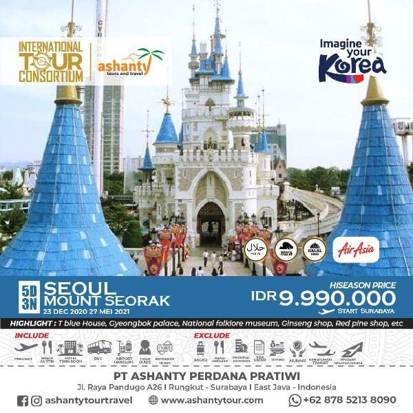 tour and travel surabaya korea