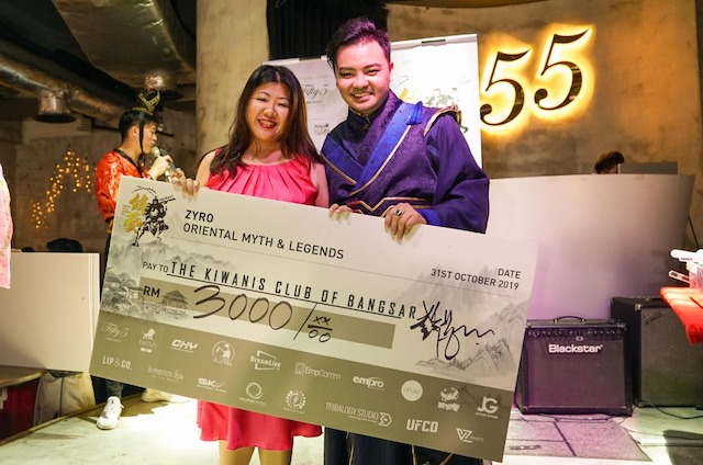 Donations and proceeds to The Kiwanis Club of Bangsar