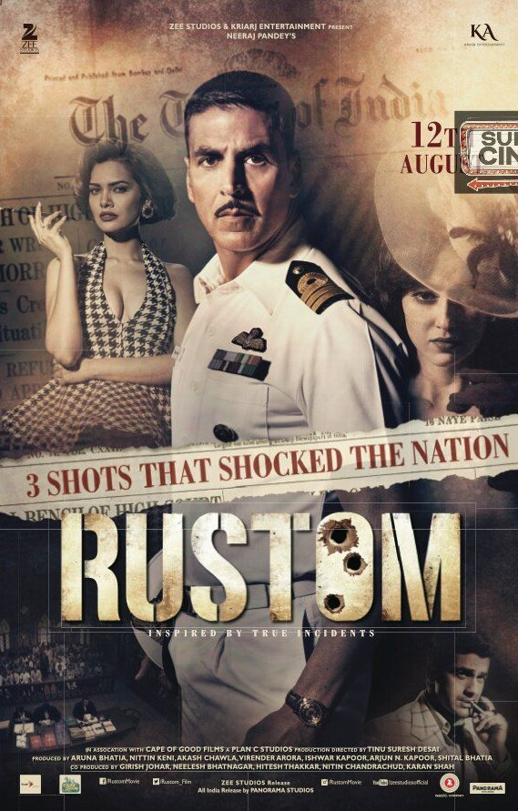 Rustom vs Mohenjo Daro movie Box Office Day Wise Collections
