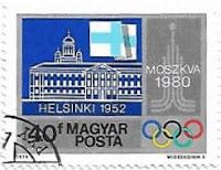 Selo Jogos Olímpicos e Helsinque 1952