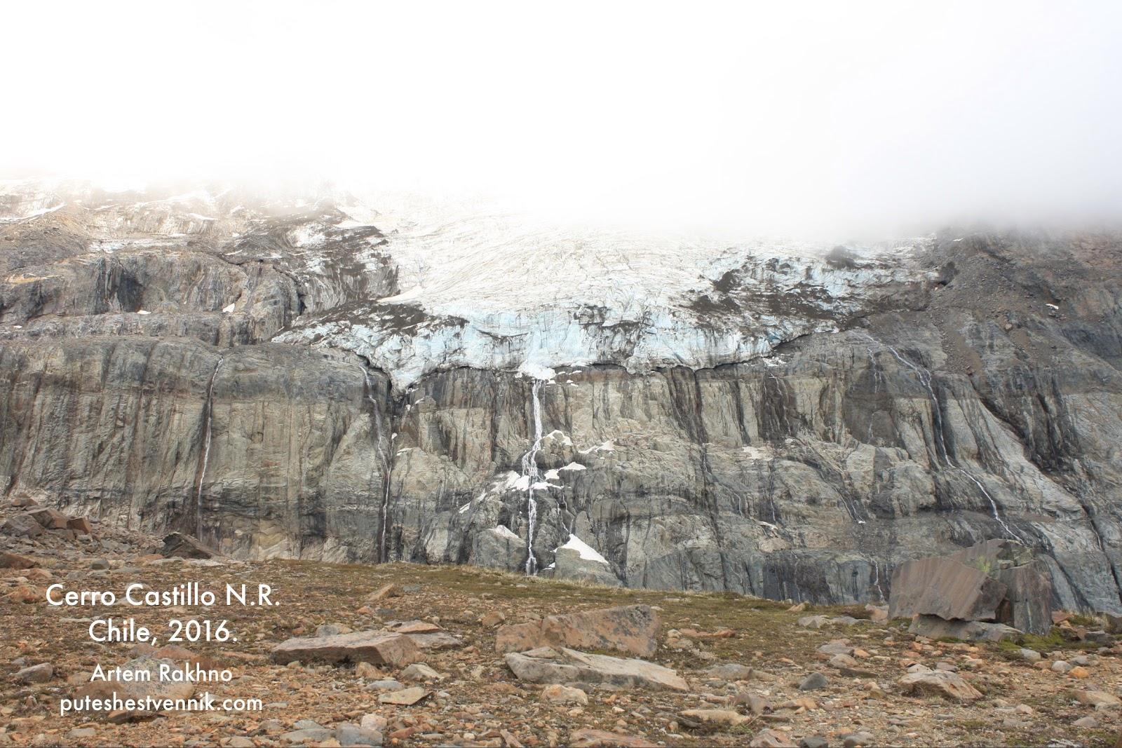 Ледник на горе