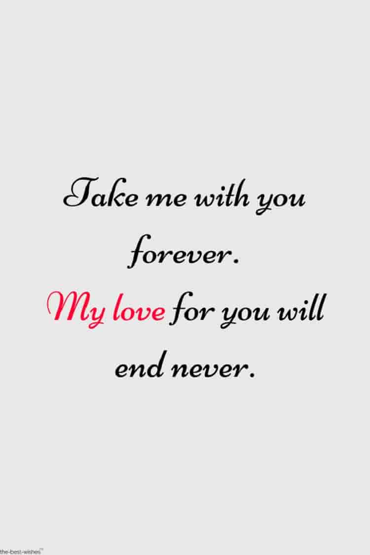 wonderful quote for my love