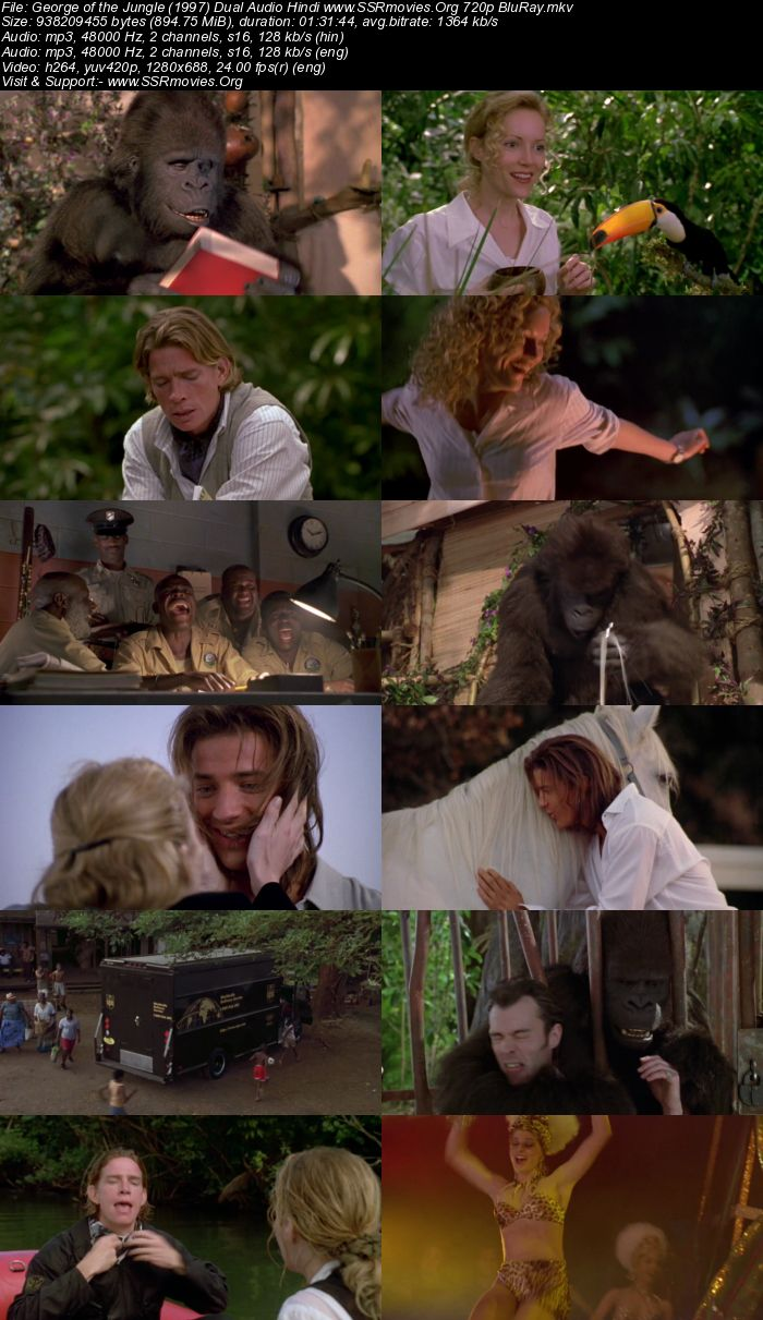 George of the Jungle (1997) Dual Audio Hindi 720p BluRay