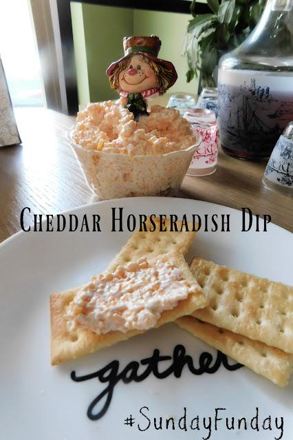 Cheddar Horseradish Dip pin