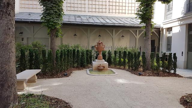 Le nouveau jardin de la maison de Victor Hugo