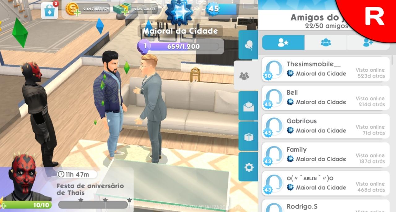 Dinheiro infinito the sims mobile