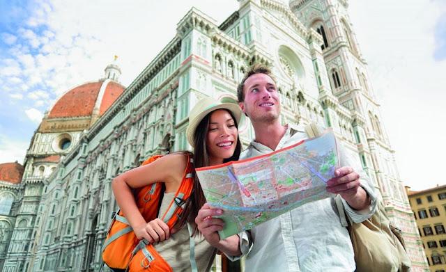 Muito tempo de viagem em Florença